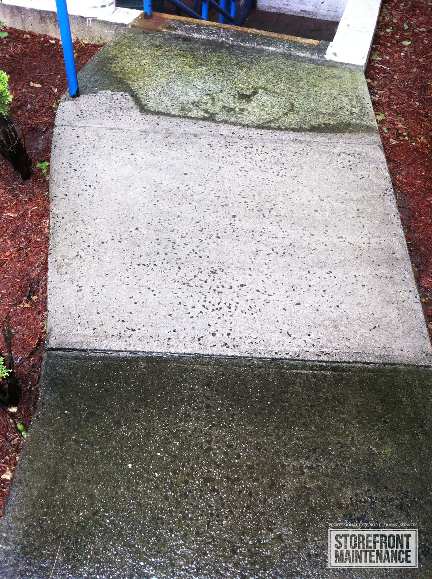 New York Sidewalk cleaning and pressure washing