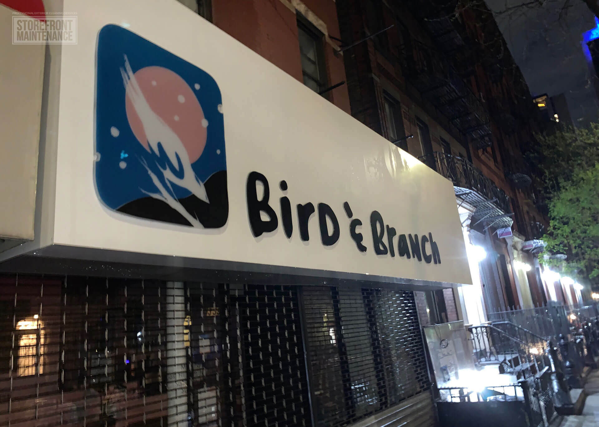 NYC Storefront Sign Cleaning and Pressure Washing 4